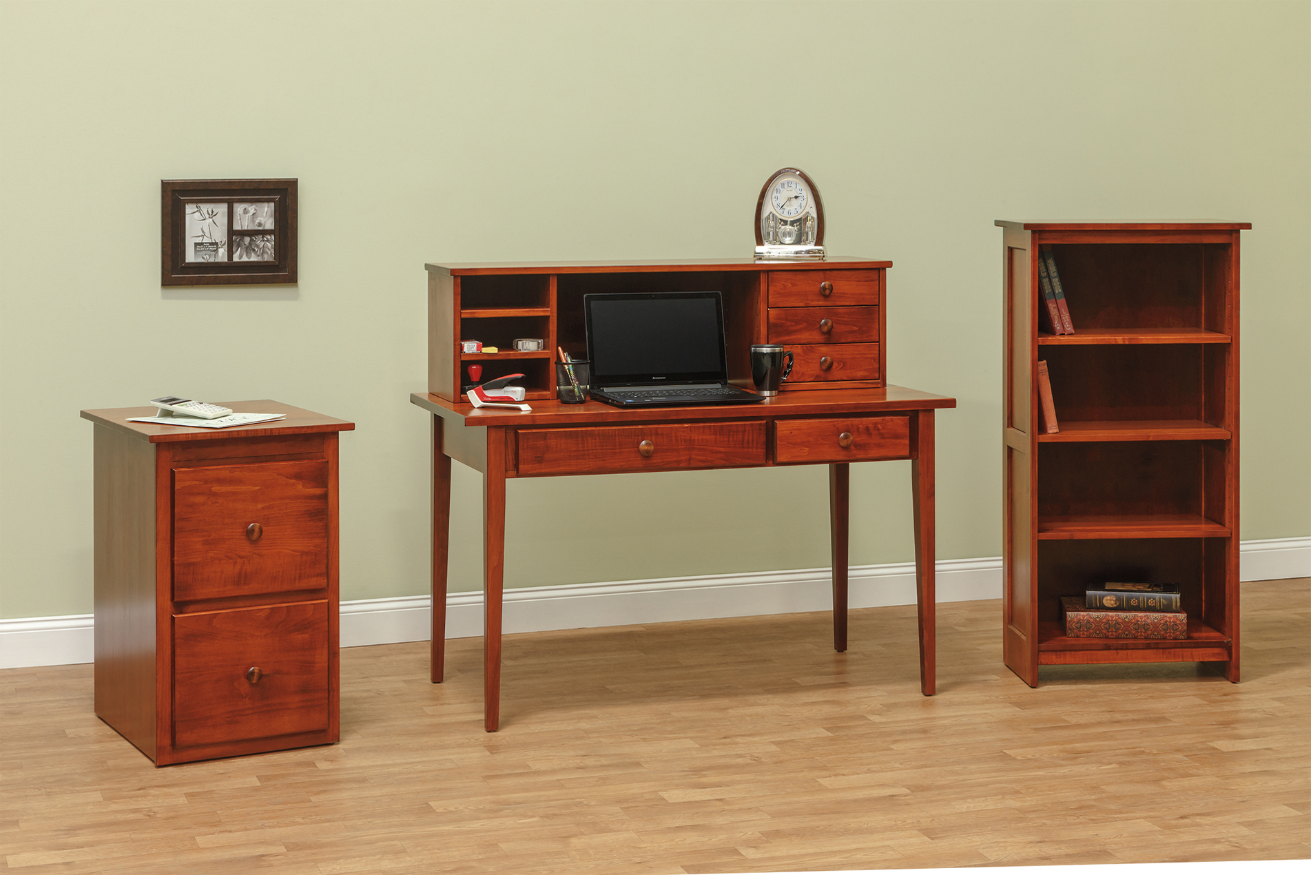 Amish Furniture And Home Furnishings Including Oak And Cherry From